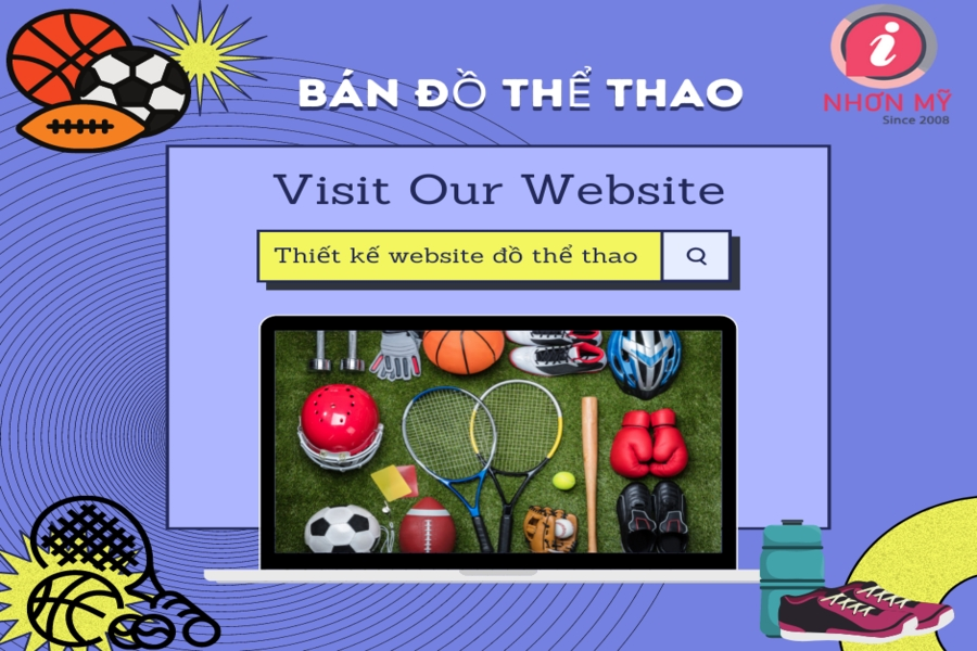 web shop bán đồ thể thao