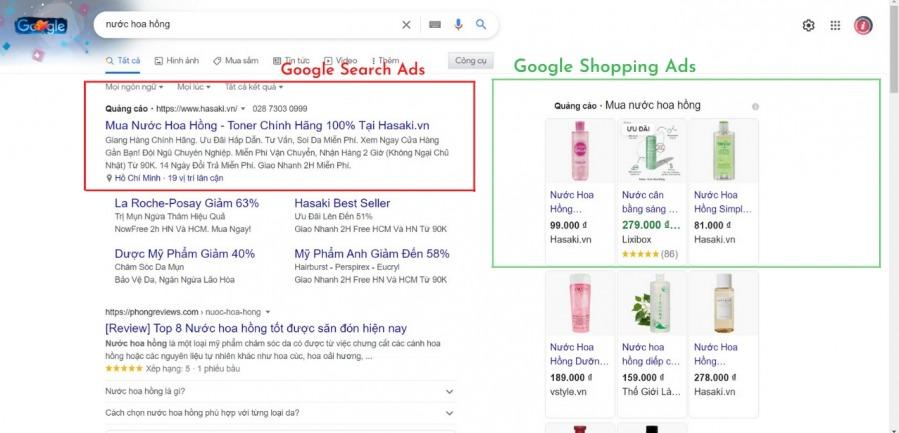 Google mua sắm