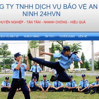 Kết quả hình ảnh cho Tạo trang website công ty Bảo Vệ