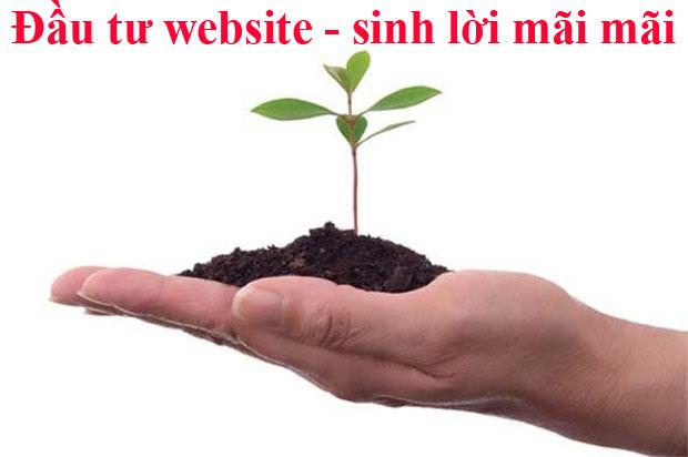 Đầu tư Thiết kế trang website bán hàng để sinh lời