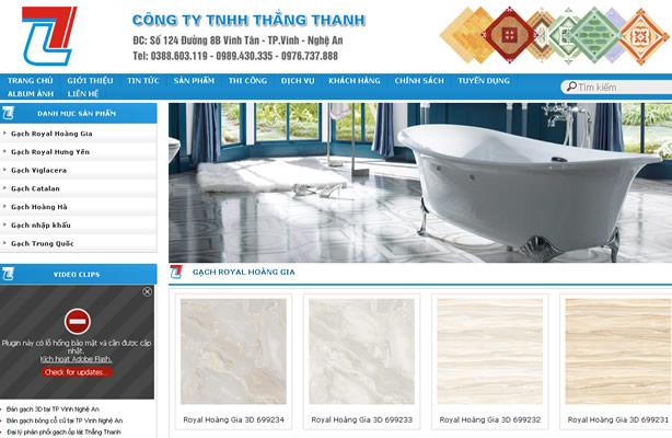 Viết trang web Vinh, Nghệ An