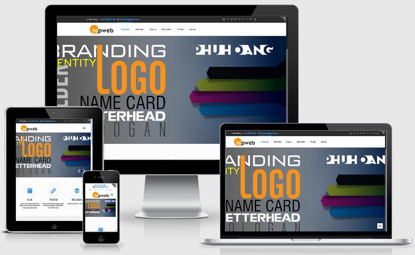Thiết kế website quảng cáo