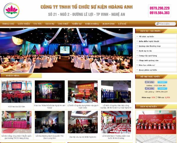 Thiết kế web Vinh, Nghệ An