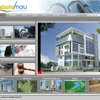 Thiet Ke Website Kien Truc Xay Dung