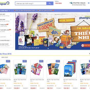 Thiết kế website nhà sách trực tuyến