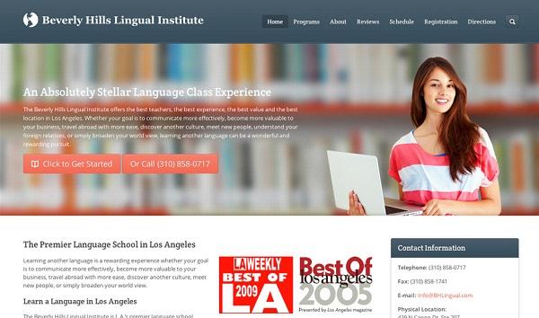 Thiết kế website giáo dục đào tạo trường học