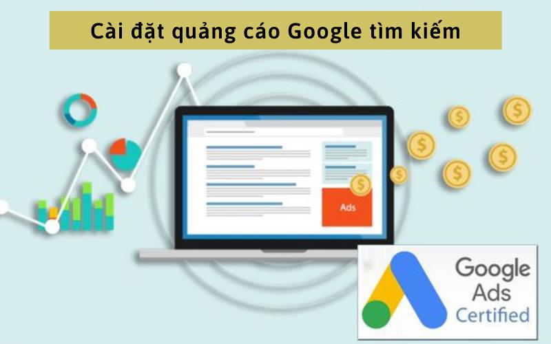 Cài đặt quảng cáo Google tìm kiếm