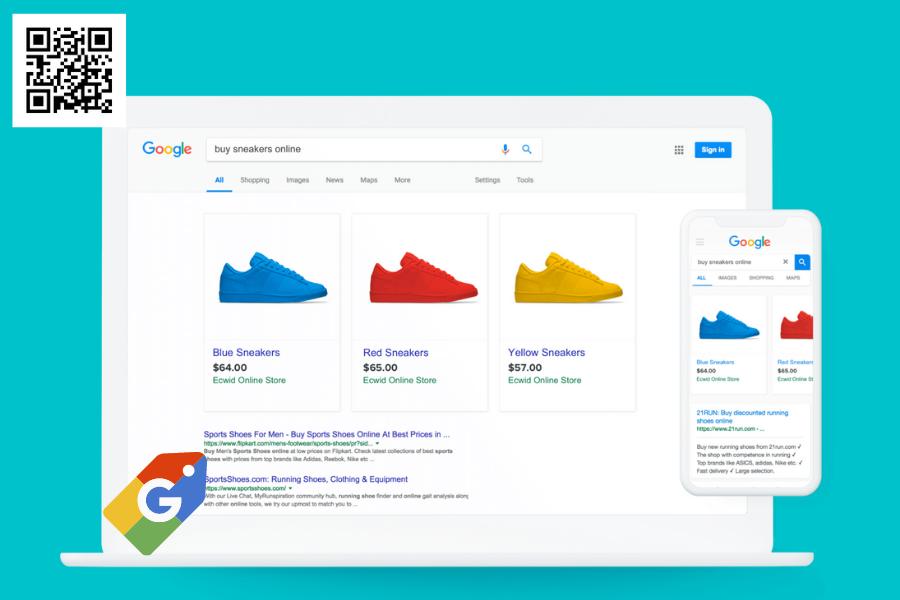 Dịch vụ Google mua sắm